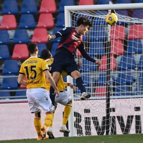 Bologna 1-0 Udinese Takehiro Tomiyasu goal