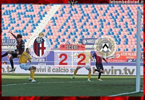 Bologna 2-[2] Udinese Tomiyasu goal