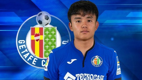 Takefusa Kubo is a Getafe player now