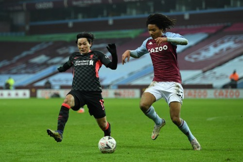 Villa 1-2 Liverpool-Gini goal Minamino assists