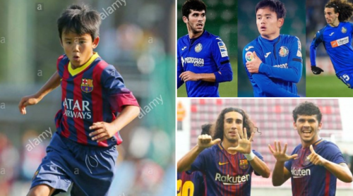 Carles Alena, Takefusa Kubo and Marc Cucurella would play for Getafe