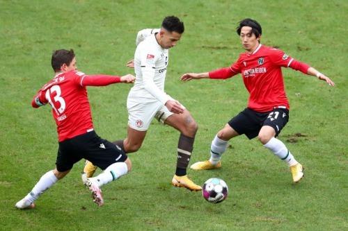 Muroya assists Hannover 2-3 FCSP