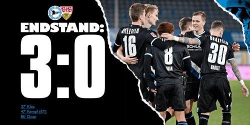 Arminia Bielefeld 3-0 Stuttgart - Ritsu Doan goal