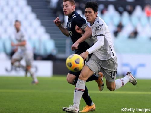 Juventus [2] - 0 Bologna Tomiyasu