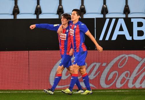 Celta Vigo 1-[1] Eibar Muto assists