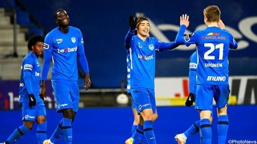 Genk 3-2 Zulte Waregem Ito goal pre assists