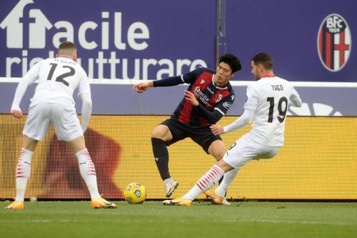 Takehiro tomiyasu Bologna 1_2 AC Milan