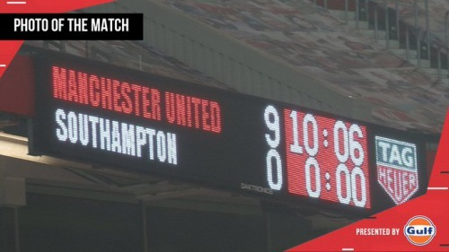 Manchester United 9-0 Southampton