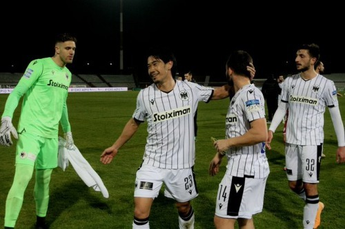 Shinji Kagawa (31) made his PAOK debut as a second half