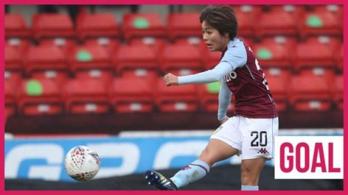 Nice goal by Mana Iwabuchi for Aston Villa Women