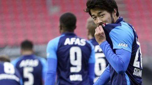 Sugawara goal fc_emmen_0_1_az
