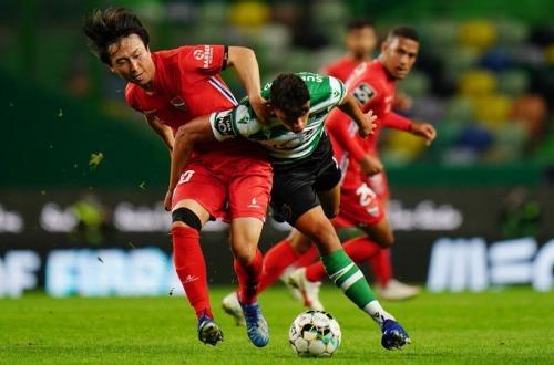Gil Vicente 1-0 Sporting - Kanya Fujimoto goal