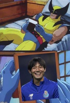 Nakajima Shoya missed at porto