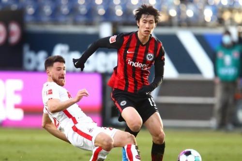 Frankfurt [1] - 0 Koln - André Silva Kamada assists