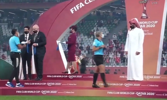 Sheikh Qatar ignores female referees during World Cup