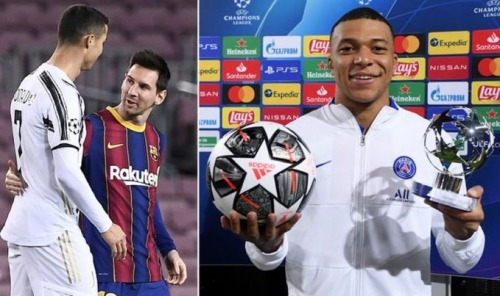 Mbappe will be at same level as Lionel Messi and Cristiano Ronaldo, says Antoine Griezmann