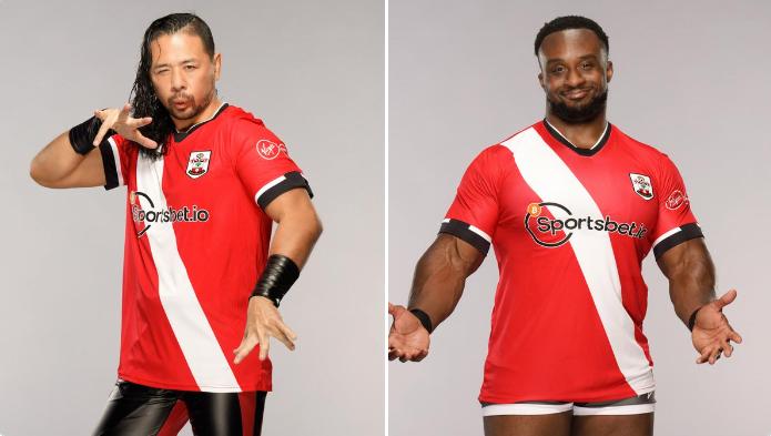 WWE stars, Big E and Shinsuke Nakamura support Southampton