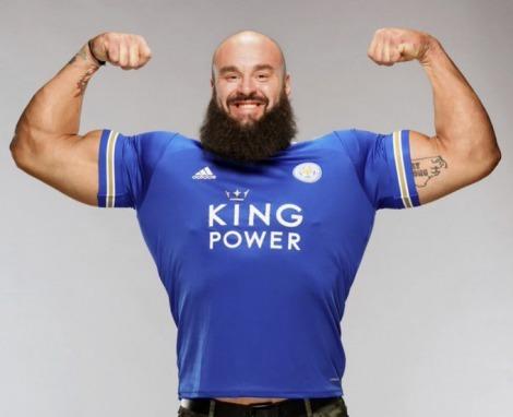 Leicester guy Braun Strowman