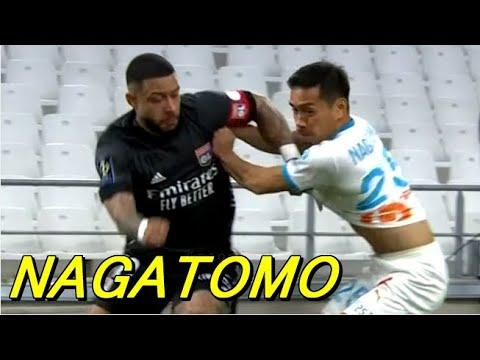 Nagatomo Marseille 1-1 Lyon