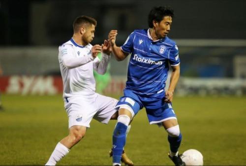 Kagawa assists Paok 1_1 Λαμία