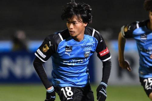 Kawasaki Frontale (3)-2 Cerezo Osaka - Kaoru Mitoma goal (Elastico then give go with Leandro Damiao)