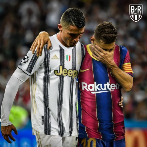 There will be no Messi or Ronaldo in the Champions League quarterfinals for the first time in 16 years