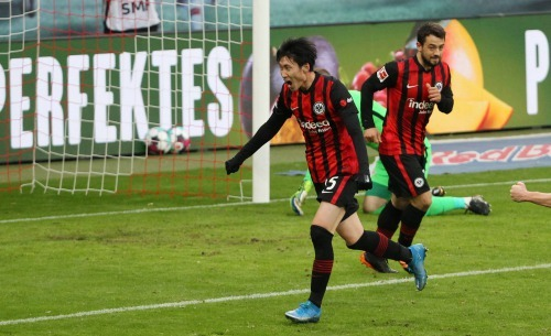 Kamada goal Leipzig 1-1 Eintracht Frankfurt