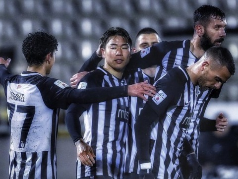 Asano got on the scoresheet Partizan to a 5-1 win over Zlatibor