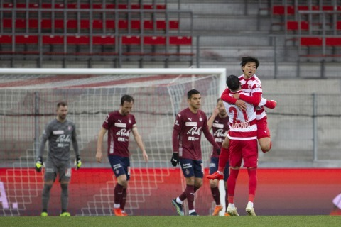 FC Sion 1_2 FC Servette Wakatsuki goal