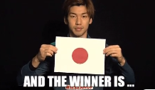 and the winner is japan