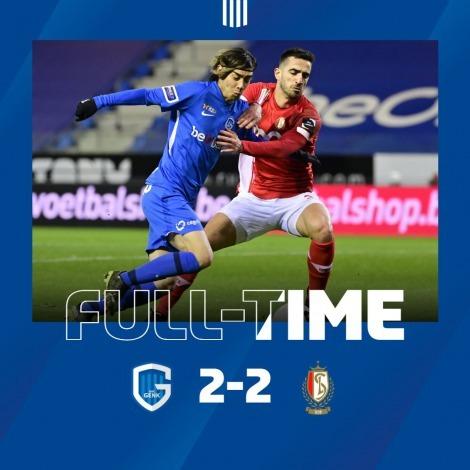 Genk 2-2 Standard Liège Ito Junya 2 goals