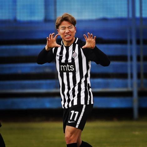 Asano Takuma goal assist backa 0_4 partizan
