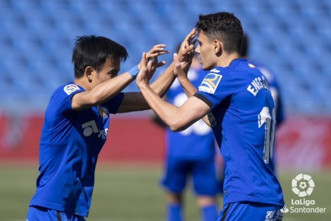 Kubo assists Getafe [1]-1 Elche - Enes Unal goal