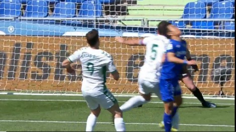 VAR took into account that Kubo had no options to get the ball