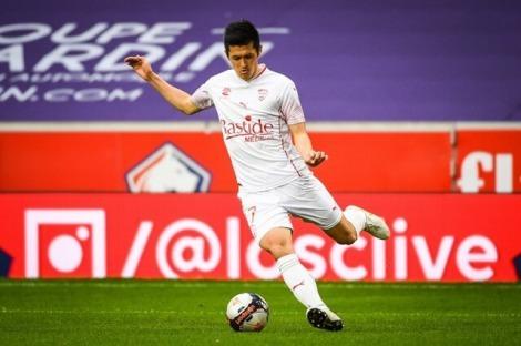 Ueda Naomichi Lille 1-2 Nîmes [Ligue 1, Round 30]