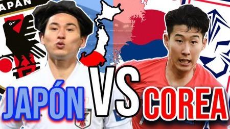 Japan (minamino) agaist South Korea (son) 2021