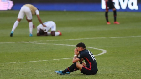 The United States has missed its third straight Olympic men's soccer tournament