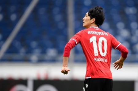 Haraguchi 2 goals Hannover 96 3-3 Hamburger SV
