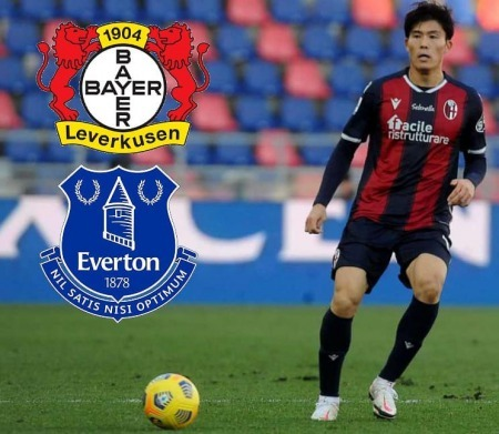 Everton are said to be interested Takehiro Tomiyas Bayer Leverkusen are said to be intereste