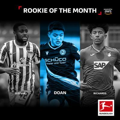 Ritsu Doan is the #BLRookie of the Month