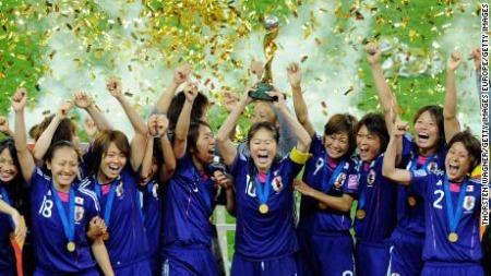 Japan women won the World Cup 2011