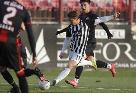 Asano Takuma goal against Macva Sabac