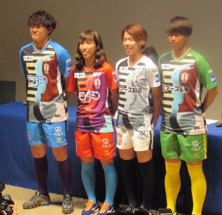 New kits for WE League founding members INAC Leonessa Kobe