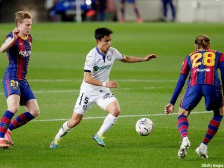 Kubo Takefusa Barcelona 5-2 Getafe