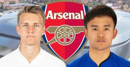 Arsenal to sign Takefusa Kubo from Real Madrid in a triple deal with Martin Odegaard and Dani Ceballos