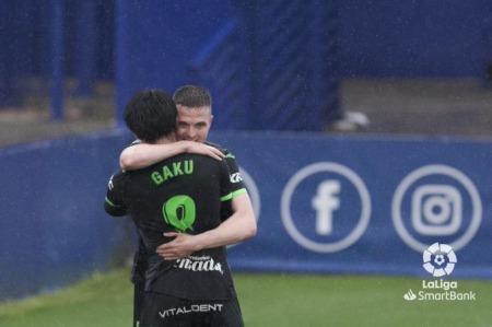Shibasaki gaku goal and assists Alcorcon