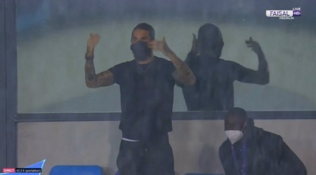 Sergio Ramos is still leading from the sidelines in stand