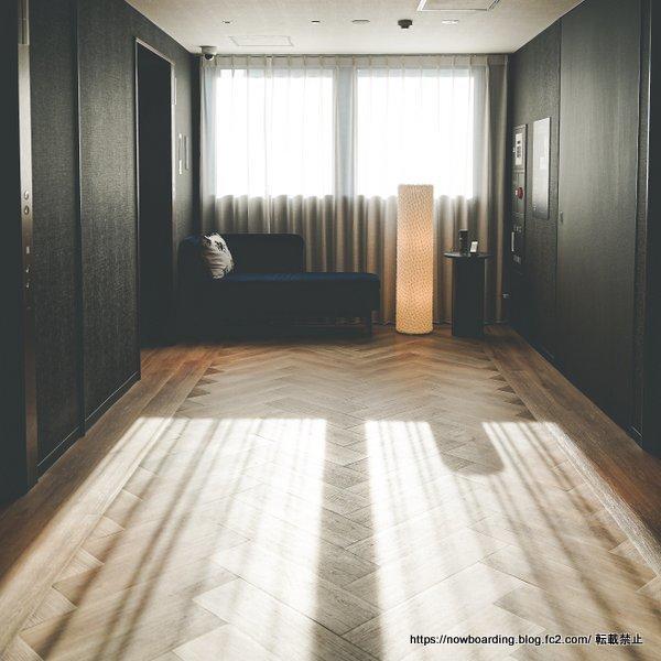 ニッコースタイル名古屋の廊下