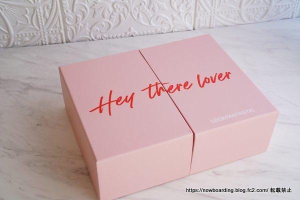 Lookfantasticビューティボックス バレンタイン限定ボックス