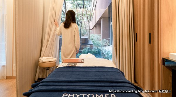 ホテル ザ セレスティン東京芝  スパ アマスタス フィトメール 感想ブログ